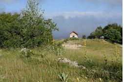 Le site classé de la Combe d'Orvaz